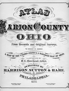 1878 Atlas of Marion County, Ohio