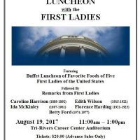 First Ladies Luncheon Flyer2017