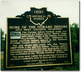 Jim Thorpe and the Oorang Indians: NFL's Most Colorful Franchise